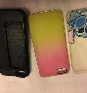 Чехлы на iPhone 5 ,5s , se