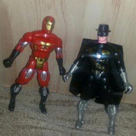 Robokop and Zorro. Герои из фильмов