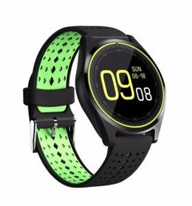 Умные часы smart watch V9-зеленые