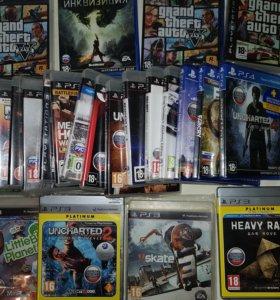 Игры для Sony PSP, Playstation 3 и Playstation 4