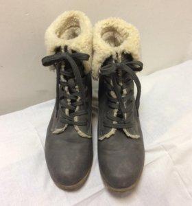 Ботинки женские зимние 41
