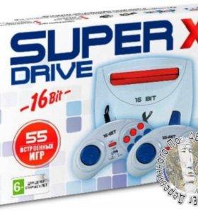 Сега Супер Драйв Х (Sega SuperDrive X, 16bit)