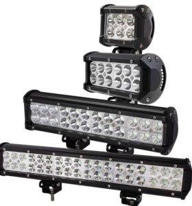 Светодиодные LED балки 18-288Вт