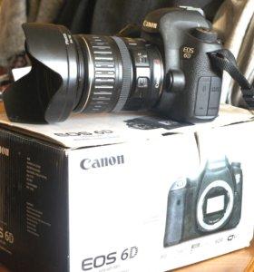 Фотоаппарат Canon 6D (W)