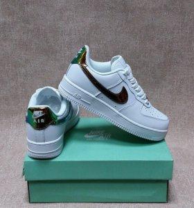 Кроссовки Nike натуральная кожа