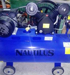Новый компрессор 100л Nautilus