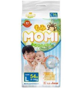 Японские подгузники и трусики Momi (Моми)