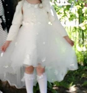 Детское платье и балеро.