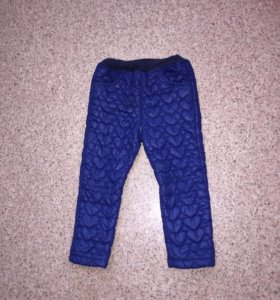 Тёплые штанишки
