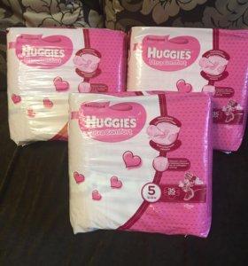 Памперсы Huggies 5 (12-22 кг)