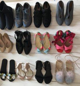⚫️туфли босоножки кроссовки стильные 36-37