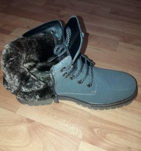 Зимние ботинки ×