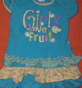 Одежда пакетом для девочки с рождения