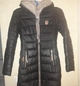 Пальто стеганое на синтепоне