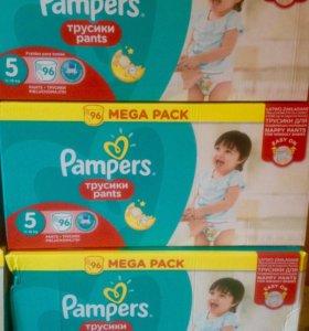 Трусики Pampers pants 5 (11-18 кг) 96 шт