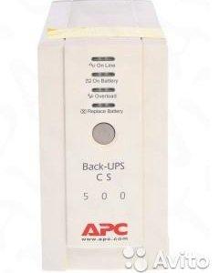 Ибп APC Back-Up CS 500VA б/y