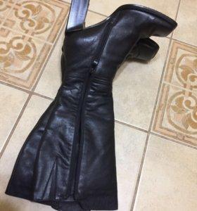 Сапоги кожаные ретро 37 размер