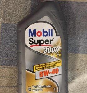 Моторное масло mobil 3000 super 5w40 1л.