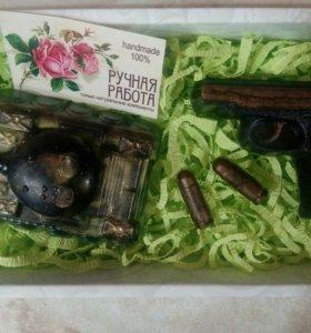Подарочный набор сувенирное мыло
