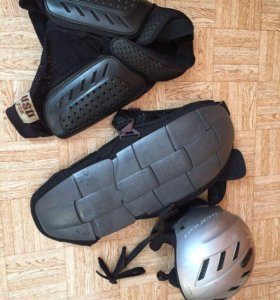 Защита для сноуборда (спина, шорты, шлем)