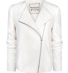 Жакет жаккардовый куртка Mango