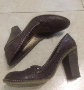 Туфли из натуральной кожи, 38 размер