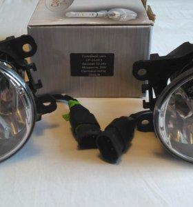 Противотуманные фары valeo + светодиодные лампы