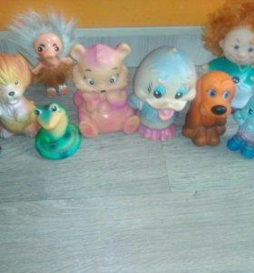Резиновые игрушки СССР цена за все
