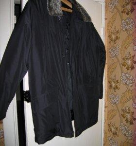 Мужская куртка 48-50 размера зимняя