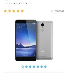 Xiaomi redmi note3 3/32g