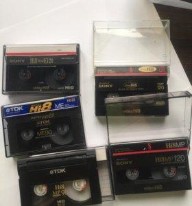 Кассета для видеокамеры HI8 90 и 60 мин
