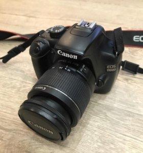 Фотоаппарат Canon EOS 1100D+ доп. объектив