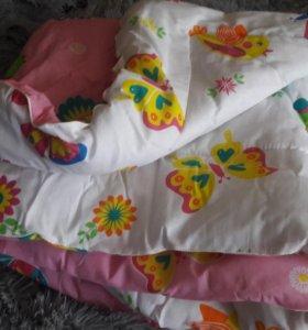 Одеяло детское двухстороннее