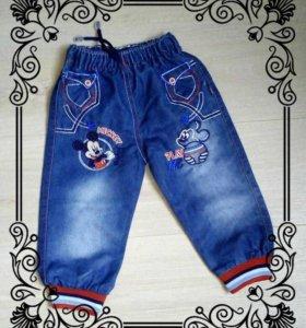 Новые детские джинсы