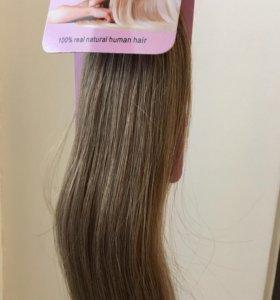 Волосы на лентах,55 см,новые