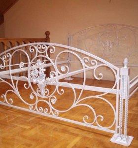 Кованная кровать