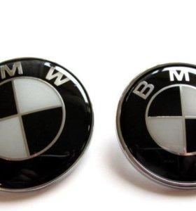 Эмблема на капот багажник и руль BMW 51148132375