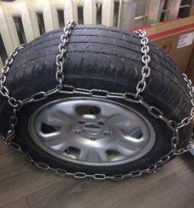Цепи противоскольжения для легковых и грузов авто.