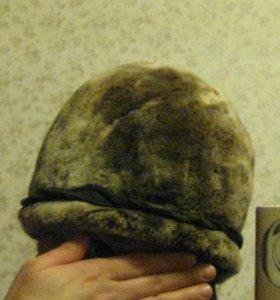 Новая шапка мутон р 56-57