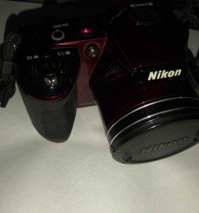 Фотоаппарат Nikon Coolpix l120 red