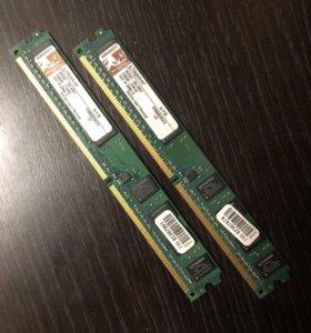 Оперативная память Kingston kvr800d2n5/1gb