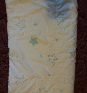 Одеяло в кроватку икея