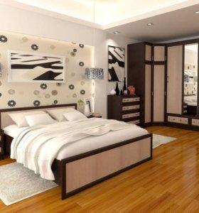 кровать модерн 1,6
