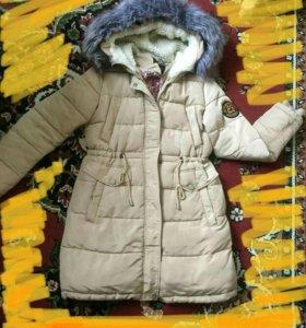 Зимняя Куртка—парка новая!
