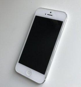 iPhone 5 белый 64гб