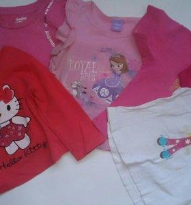 Детские вещи пакетом(21 вещь)