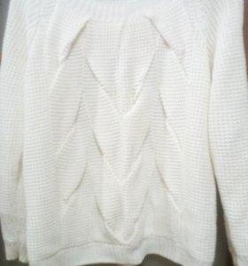 Свитер машинная вязка