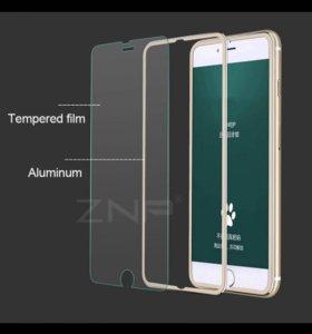 Защитное стекло 3D для iPhone 8 Plus