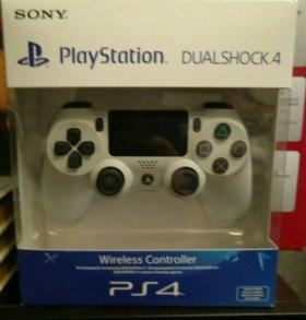 Dualshock 4, новый, белый