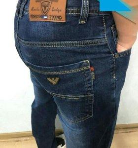 Новые джинсы мужские стрейч